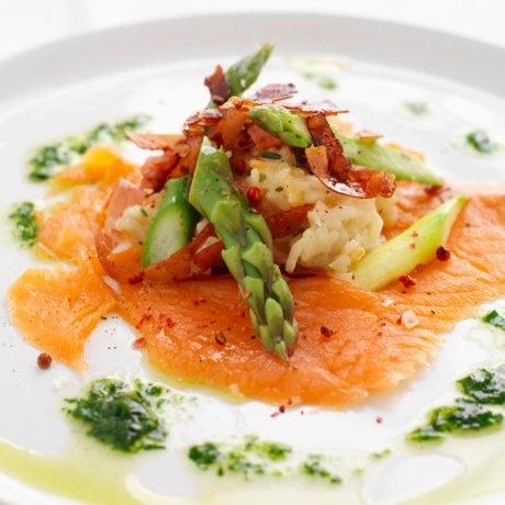 Salmon dish // source: matprat.no
