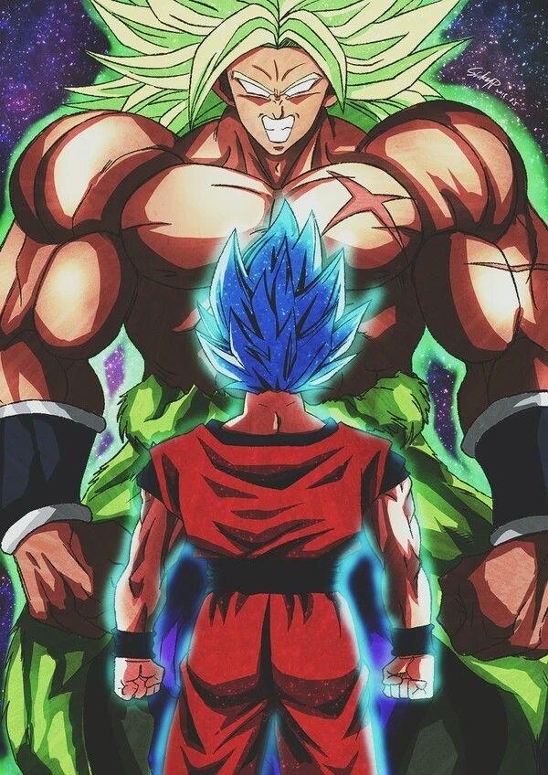 Goku Vs Broly Anime Dragon Ball Super Anime Dragon Ball Dragon Ball Art