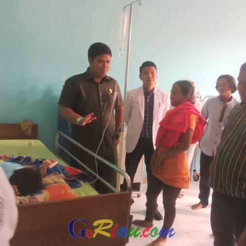 Ditelantarkan, Pasien RSUD Telukkuantan Ngadu ke DPRD