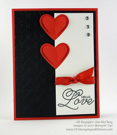 13 Stampin' Up! Valentine Swap Samples
