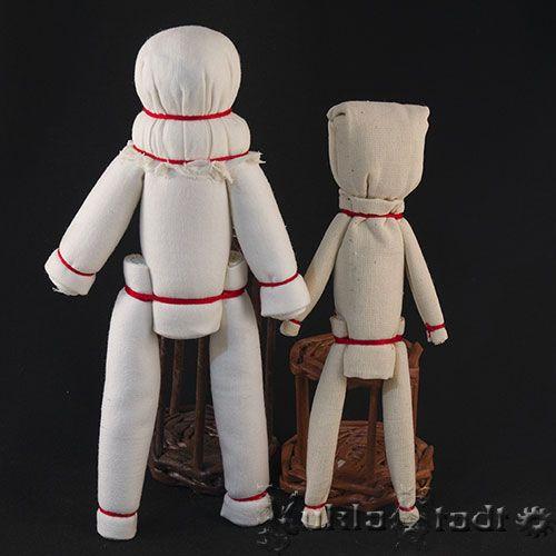 Тряпичные куклы из скруток