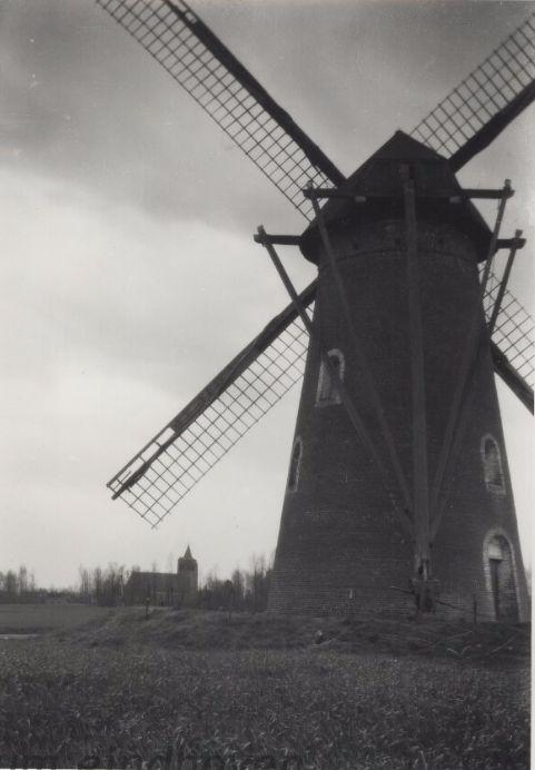 Molen van Lensen, 1925 Auteur: Hansen, H.J.M.