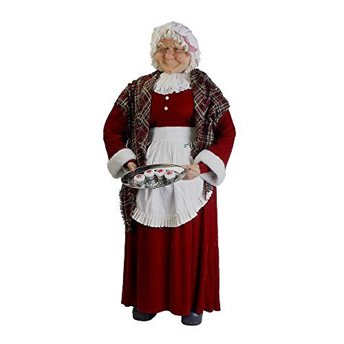 Santa's Little Helper Collection 68-Inch Jacqueline Kent Standing Mrs. Claus >>> Want additional info? Click on the image. This is an affiliate link.
