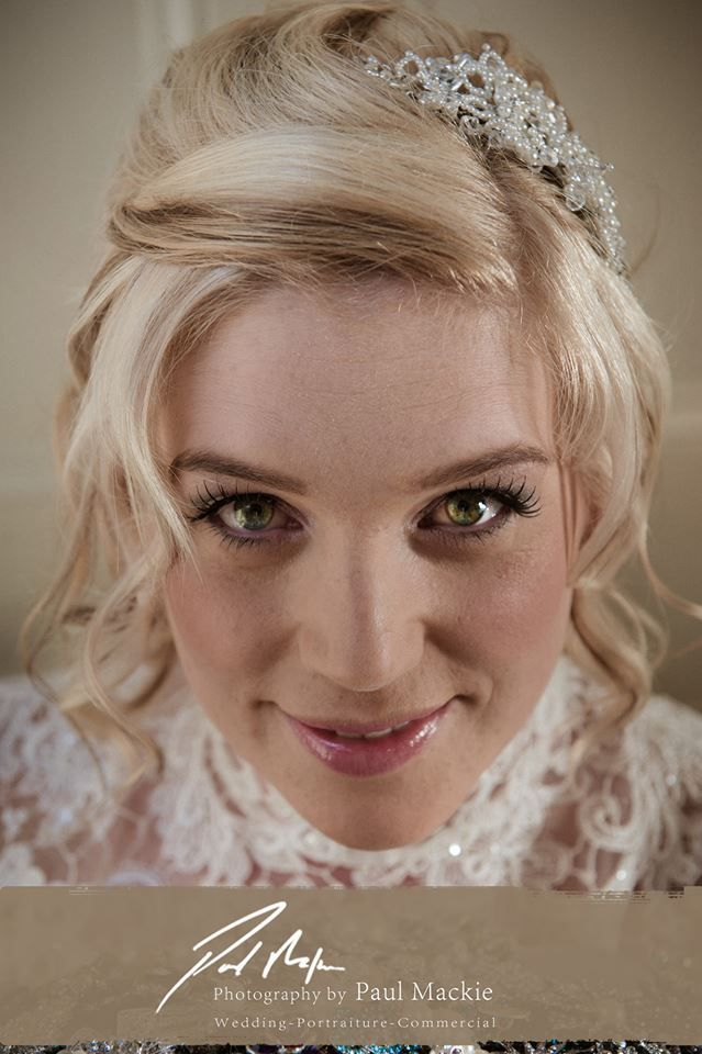 Bridal make up. Aberdeen Wedding Photography
