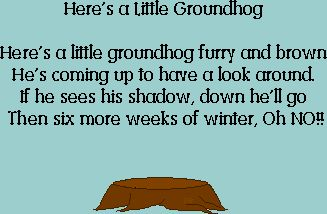 Ground Hog Day Theme Unit - Lessons, Activity Sheets, Books, and more for teachers and their students
