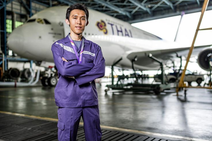 Saranyoo Paokanta, Technician, Thai Airways