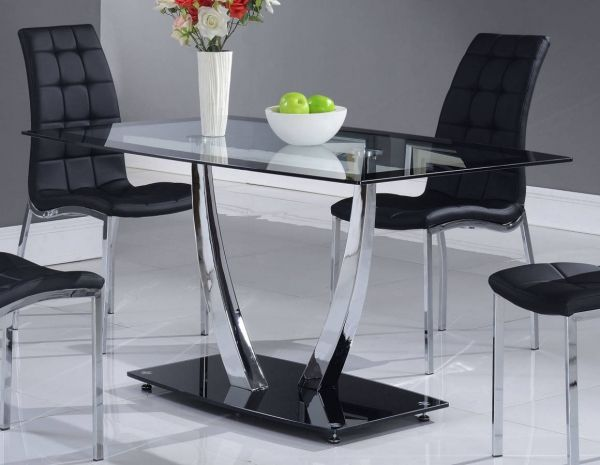 dining table price in usa. d716 series black glass metal dining table price in usa i
