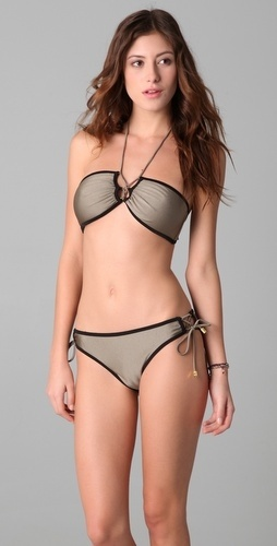 Brette Sandler Swimwear Corey Bandeau Bikini – StyleSays