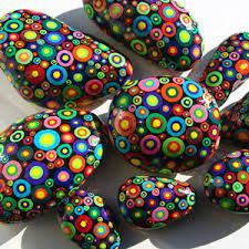 painted stones craft - Google Search