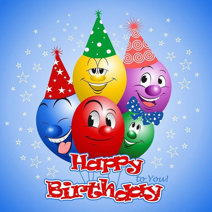 Free Image on Pixabay - Birthday, Holiday, Ball, Air, Humor Happy Birthday Wishes
