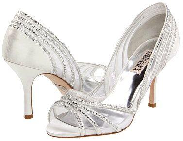 Diamond White Badgley Mischka Glynn Bridal Shoes