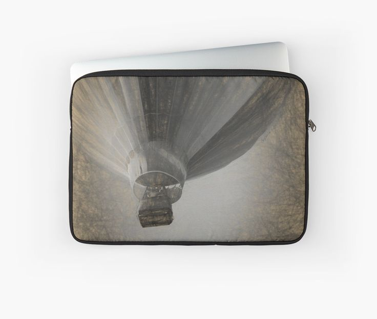Hot Air Balloon Da Vinci style Laptop Sleeves by Galerie 503