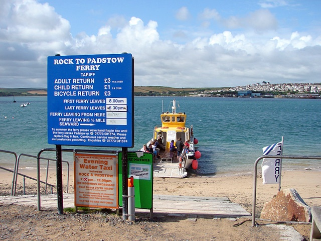 Padstow in Cornwall..a little island the other side of the sea. The ferry boat is the exact one i travelled on! #memories. xo