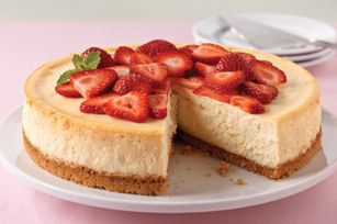 Easy cheesecake; tried it and it was a success ;) Spastic-baker-proof (pretty hard to mess this up!)