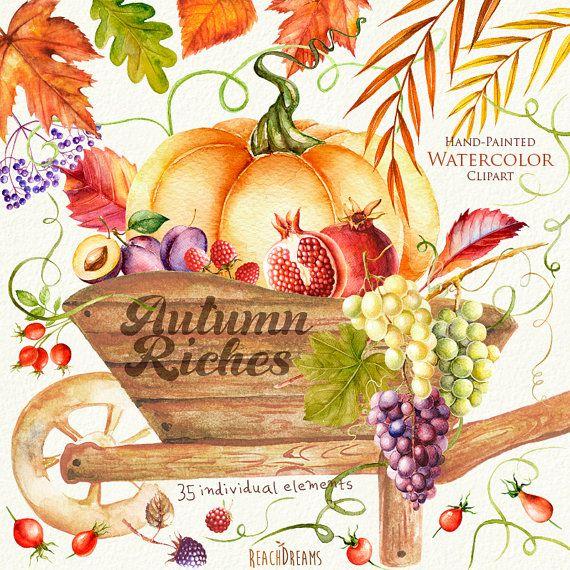 Questa serie di 35 alta qualità a mano dipinto acquerello elementi separati: caduta del carro di legno, zucca, foglie, verdure, frutti, bacche. Grafica perfetta per inviti di nozze, biglietti dauguri, foto, poster, citazioni e altro. Dettagli elemento: 35 file PNG (300 dpi, RGB, sfondo trasparente) Elementi dimensioni (lato maggiore) aprox.: 10-4 pollici ---------------------------------------------------------------- Download immediato: Una volta che il pagamento è eliminato, è possibil...