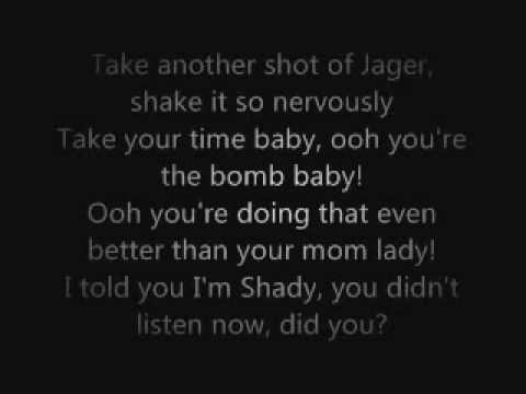 Eminem - So Bad Lyrics On Screen reminds me of ricky from secret life