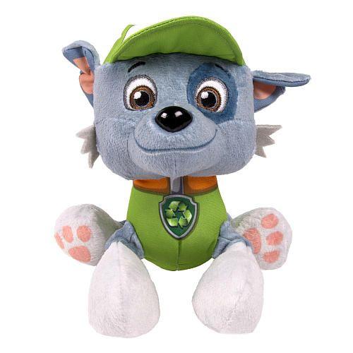 "Nickelodeon, Paw Patrol - Plush Pup Pals- Rocky - Spin Master - Toys""R""Us"