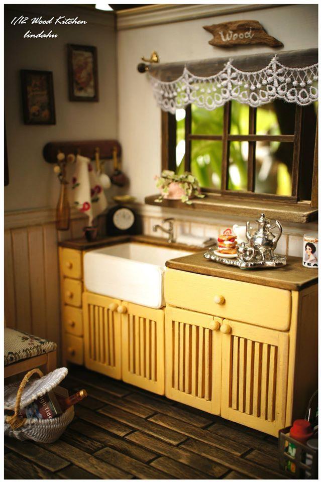 167 best D.H. / CUCINE images on Pinterest | Doll houses, Miniature ...