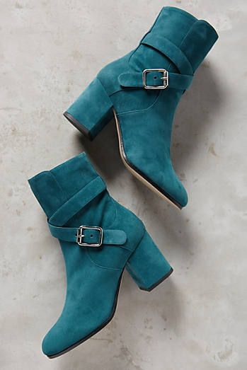 Deimille Eloise Buckled Ankle Boots