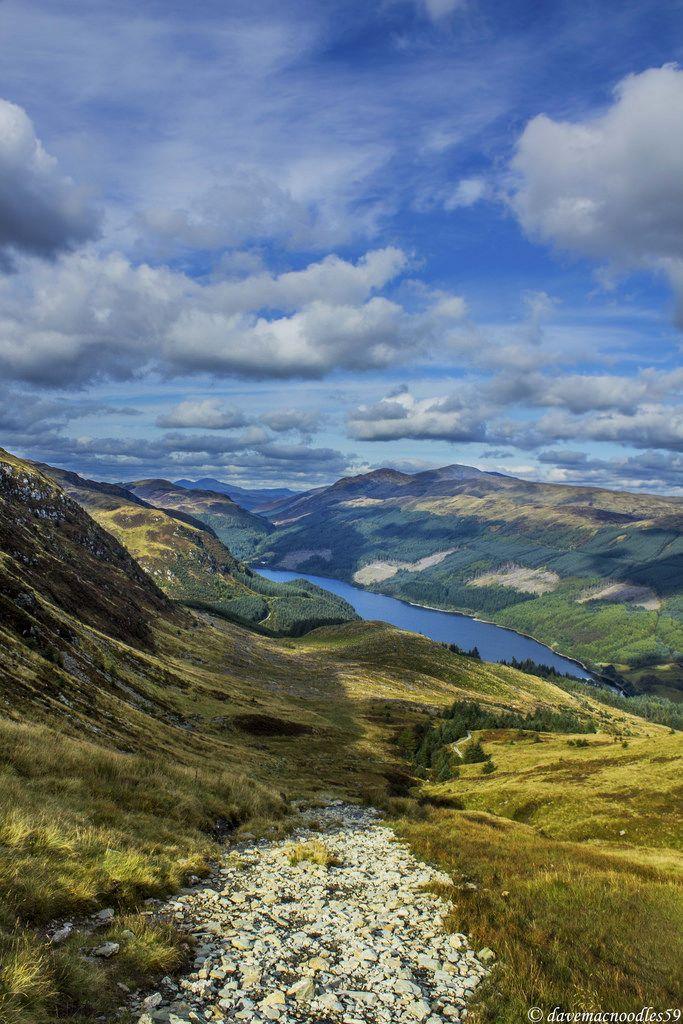 From Callander to Ben Ledi - Perthshire, Scotland.