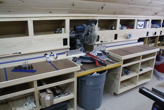 Miter Saw Bench with Rockler T Track Rockler Universal T Track Kit Review