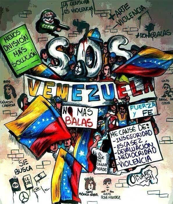 Twitter / AnonsVenezuela: Gran caricatura que refleja ...