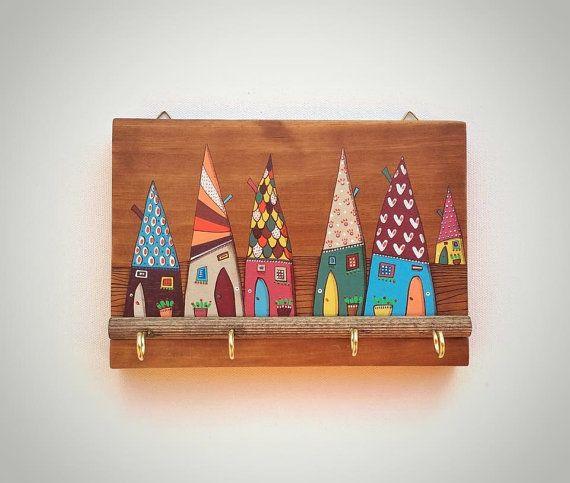Oltre 25 fantastiche idee su appendichiavi su pinterest - Portachiavi da parete ...