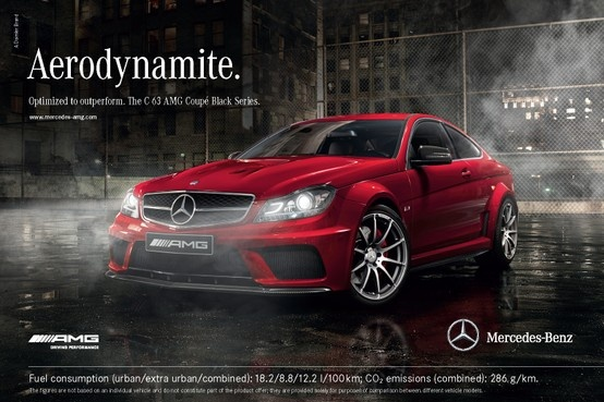 The C 63 AMG Coupè Black Series - Optimized to outperform.