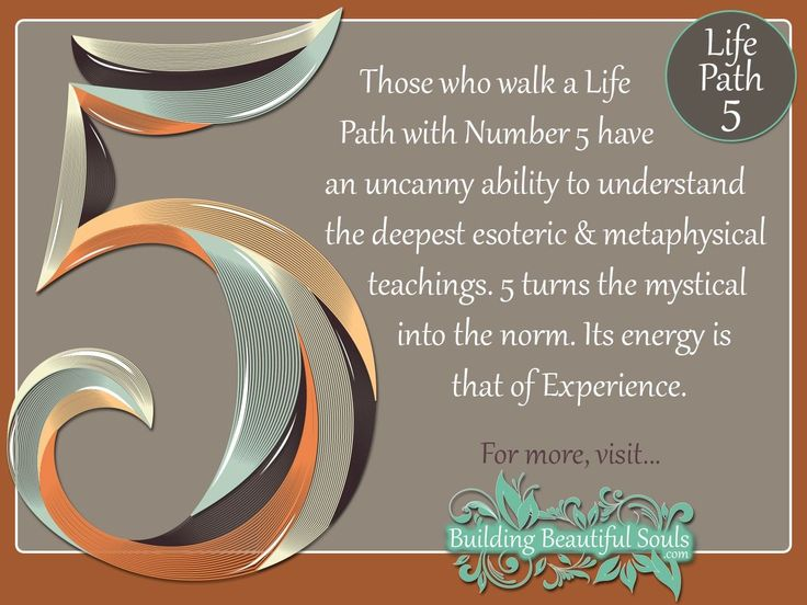 NUMEROLOGY 5 - Learn the NUMEROLOGY MEANINGS & spiritual significance of NUMBER 5. In-depth descriptions for LIFE PATH, COMPATIBILITY, DESTINY, & CAREER!