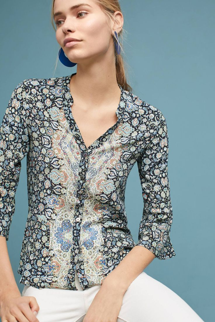Shop the Silk Flared-Sleeve Buttondown and more Anthropologie at Anthropologie today. Read customer reviews, discover product details and more.