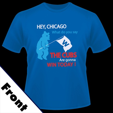 Go Cubs Go! This is the song all Chicago Cubs Fans sing after a win at Wrigley Field.