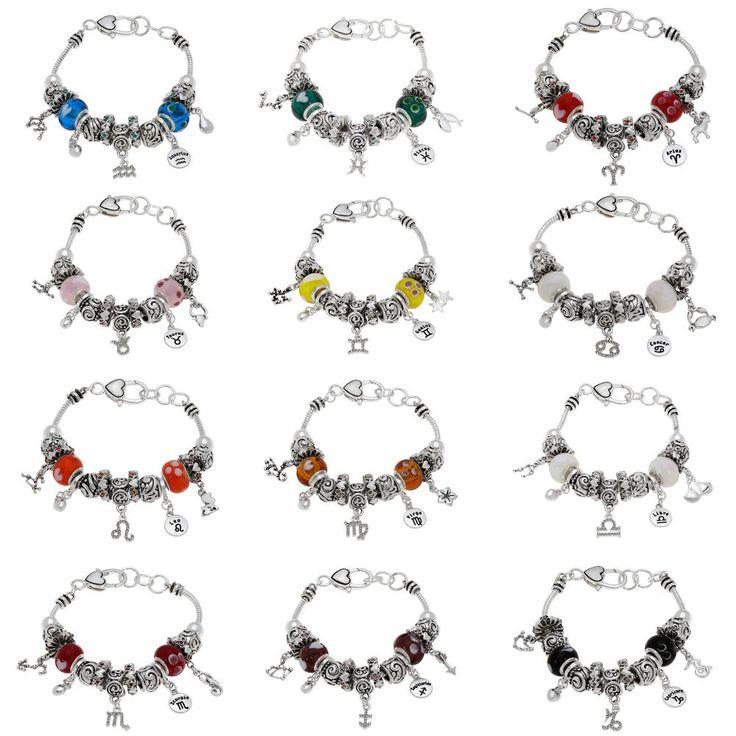 My Charmed Life Zodiac Charm Bracelet