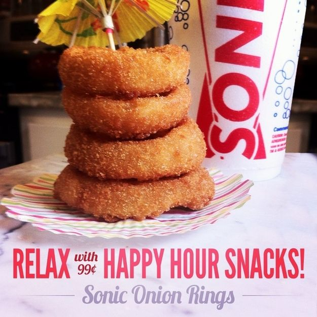 Sonic Drive In Restaurant Copycat Recipes: Onion Rings