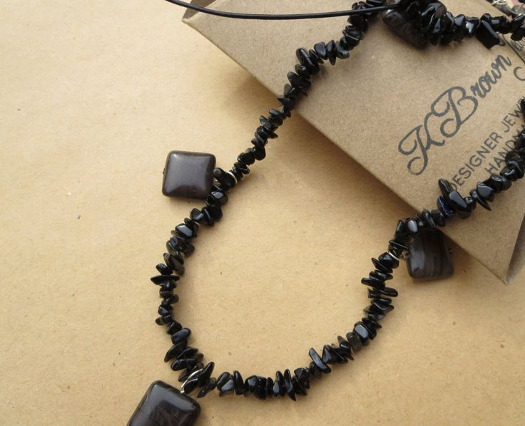 A personal favourite from my Etsy shop https://www.etsy.com/uk/listing/232969075/onyx-necklace-agate-gemstone-necklace