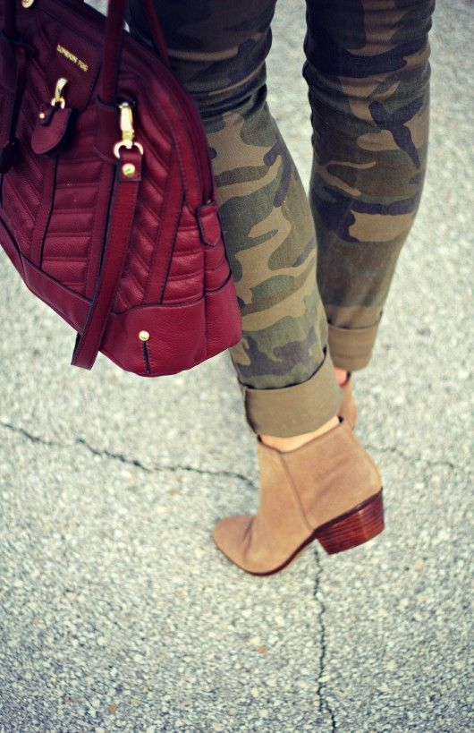 Camo Pants  booties #projectfab #camopants