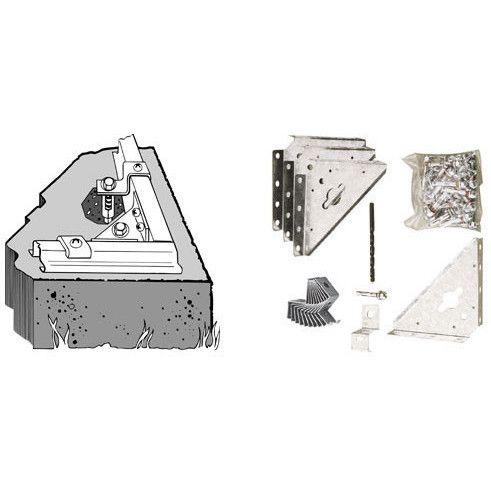 Arrow Concrete Anchor Kit Accessory