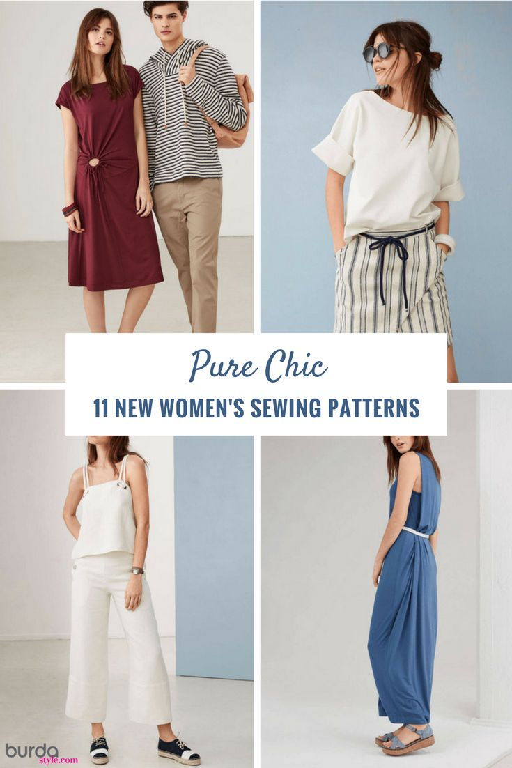 380 best sewing patterns collections images on pinterest pure chic 11 new womens sewing patterns jeuxipadfo Images