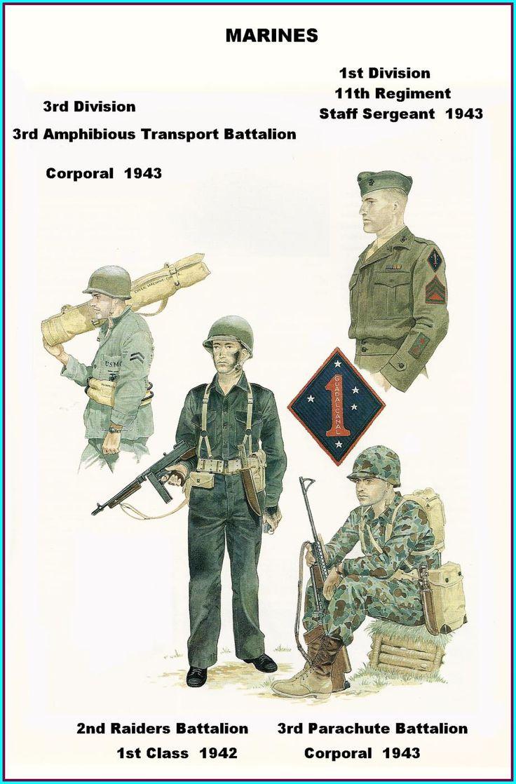 Marine Corps Infantry | Marine World