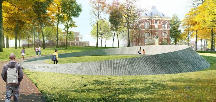Memorial to Enslaved Laborers at UVA | Höweler + Yoon