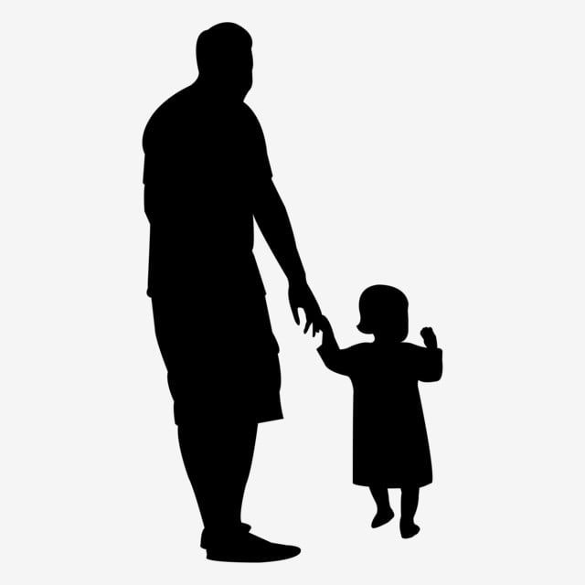 Father S Day Father And Daughter Silhouette Vector Vector Father S Day Silhouette Png Transparent Clipart Image And Psd File For Free Download Silhouette Vector Silhouette Png Hand Silhouette