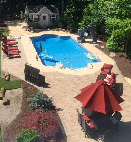 Vinyl Liner Inground Swimming Pool Image Gallery Landi