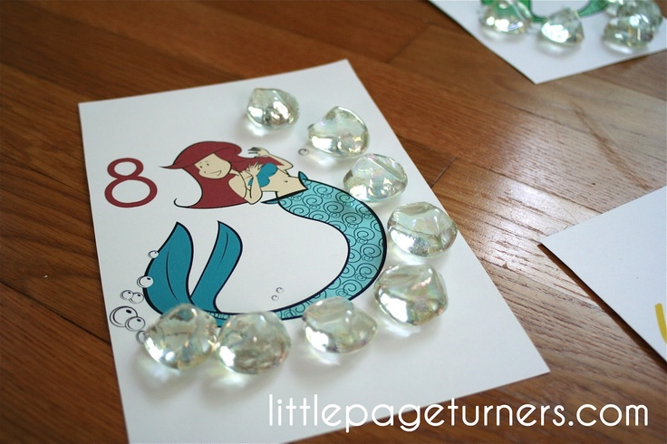 Mermaid Counting: Turner, Counted Bubbles, Schools Stuff, Teacher Notebooks, Fun, Islands Prek, Mermaids Lessons Preschool, Classroom Ideas, Mermaids Counted