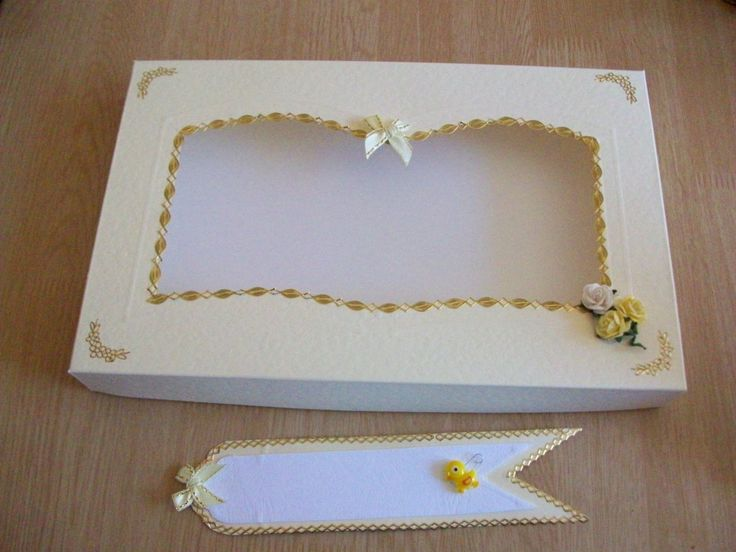 A box for a Bookatrix card with a window