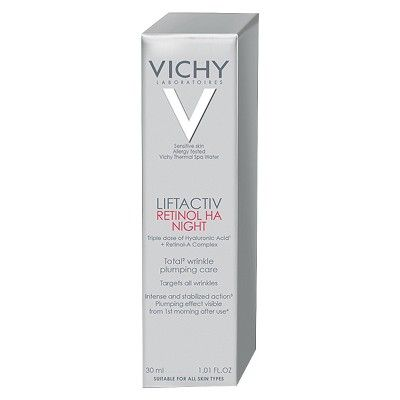 Vichy Liftactiv Retinol HA Night Total Wrinkle Plumping Care - 30 ml
