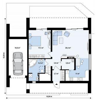 Las 25 mejores ideas sobre dise o de garaje en pinterest for Una casa di tronchi con garage