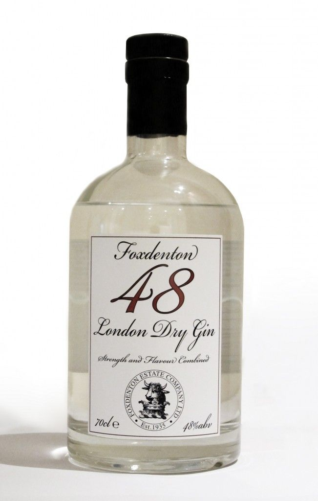 Foxdenton's Original 48 London Dry Gin is evertyhing a London Dry should be but even more so thanks to its strength!