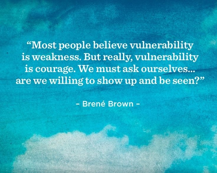 Daring greatly, she was amazing on TED and phenomenal on Life Class