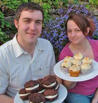 Ellie & Adam - Owners of Truly Treats