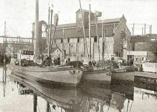 Kanaal bij Deventerbrug