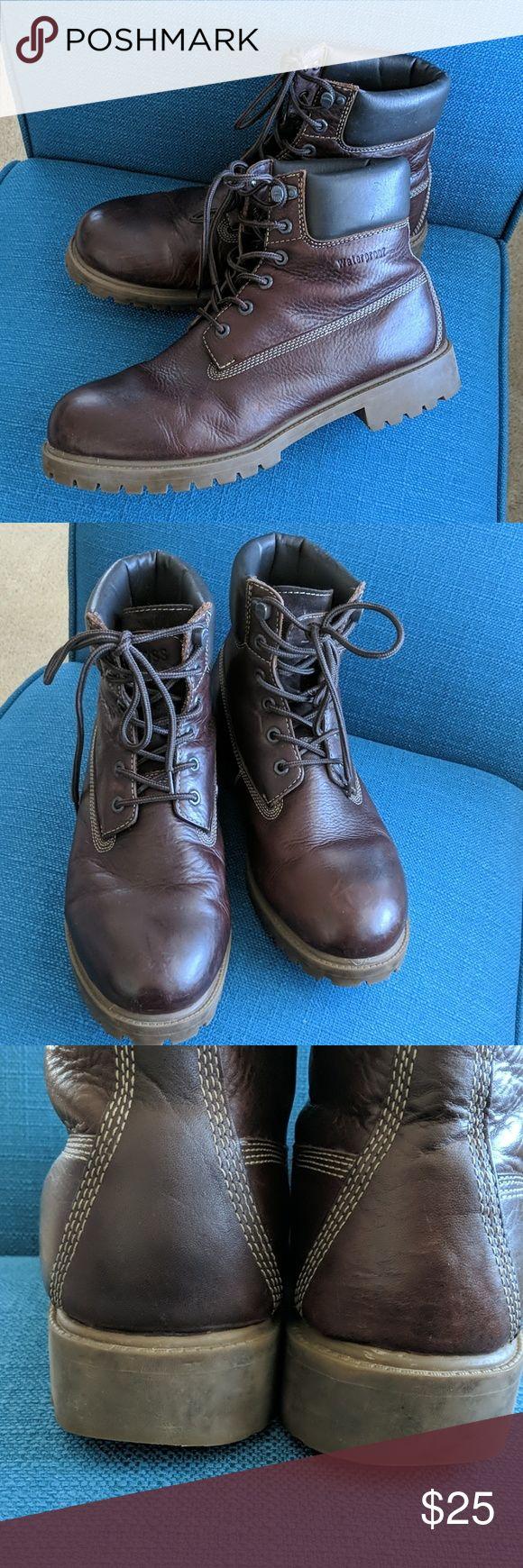 Bass Waterproof Leather Mens Boot Boots men, Waterproof